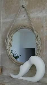 Miroir Rond Corde : les 25 meilleures id es de la cat gorie miroir de corde sur pinterest miroir nautique d cor ~ Teatrodelosmanantiales.com Idées de Décoration