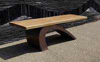 interesting patio furniture design ideas pictures Interesting Modern Bench In Casual Yet Versatile Interior ...