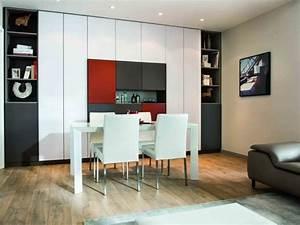 Grand Meuble De Rangement : salle manger avec grand meuble de rangement color ~ Teatrodelosmanantiales.com Idées de Décoration