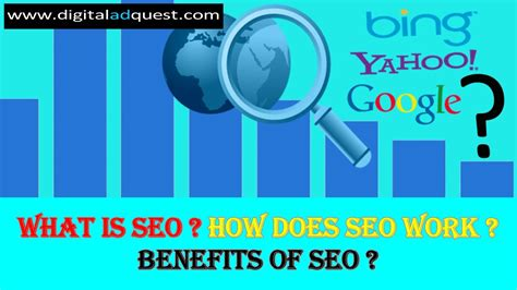 how does seo work what is seo how does seo works benefits of seo