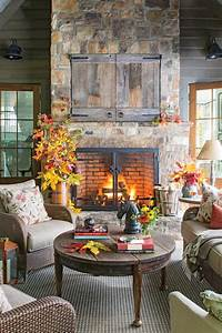 40 cozy ideas for fireplace mantels southern living