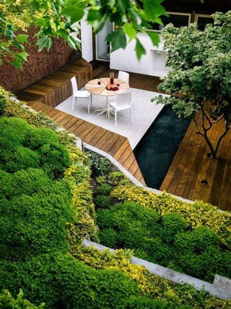 Garten Gestalten Eckgrundstück by Kleiner Garten Steiler Hang Grundst 252 Ck Terrasse Wei 223
