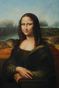 famous mona lisa by leonardo da vinci painting