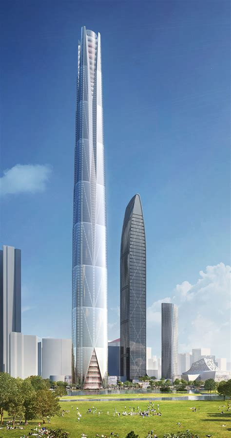 shenzhen tower bkl architecture