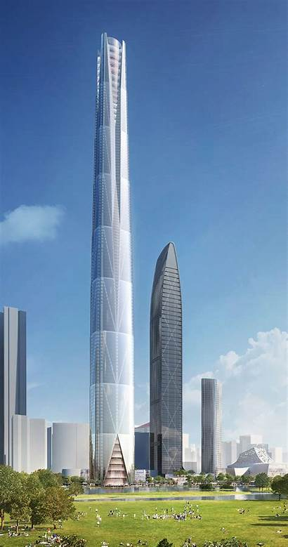 Shenzhen Tower Architecture Bkl Icon Project Meter