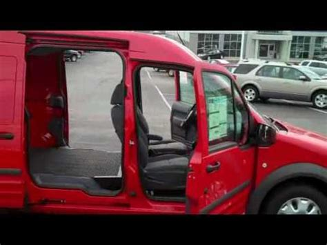 ford transit connect cargo van xl youtube