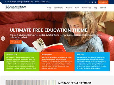 education base education wordpress theme