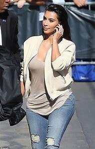 Kim Kardashian Jean Style