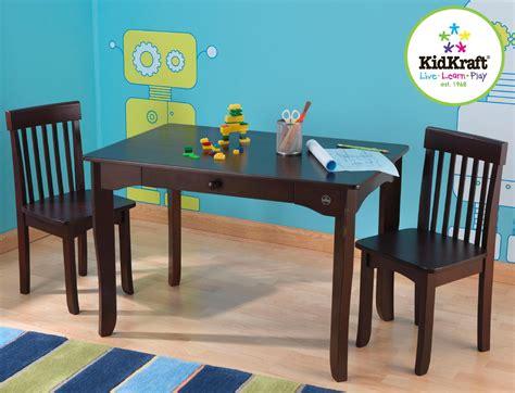 kidkraft avalon desk and chair kidkraft avalon table chair set espresso