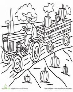 Pumpkin Patch Coloring Pictures by Pumpkin Patch Coloring Page Education Com