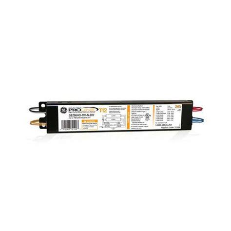 4 l t12 ballast home depot ge 66813 120 277 volt 8 ft 2 l t12 hi output