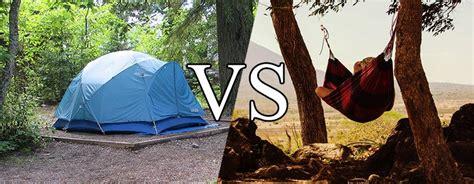 Tent Vs Hammock by Cing Basics A Beginner S Guide To Hammock Cing