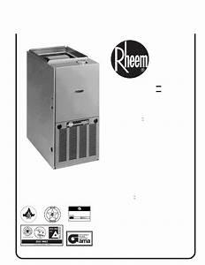 Rheem Criterion Ii Installation Manual