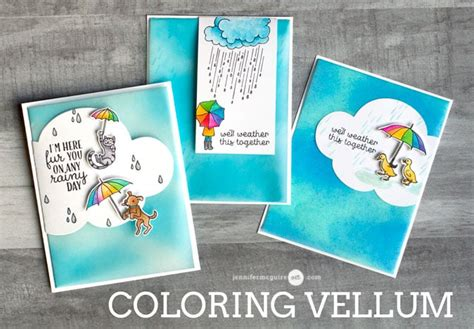 coloring vellum blog hop giveaway jennifer mcguire