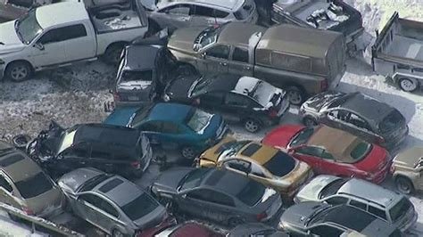 Toronto's Highway 400 Sees 96-car Pile-up