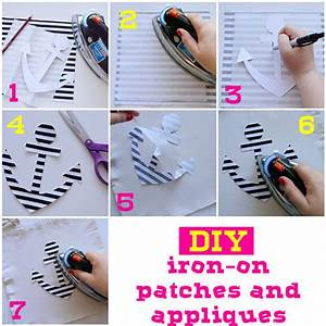 Diy iron on patches and appliques how to make a patches for Diy iron on letters for clothing