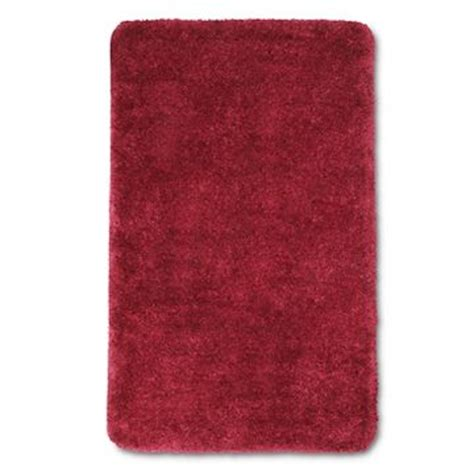 red bathroom rug target