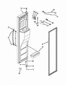 Freezer Door Diagram  U0026 Parts List For Model Wrs526siae00