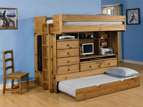bunk bed desk combination bunk beds with desk image of twin size bunk beds ladder