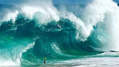 Waves Beach Sea Ocean Water Wave Surfing
