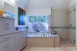 Transitional, Bathroom, Boasts, Bathtub, U0026, Frameless, Glass