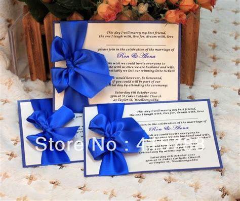 greeting card wedding invitation card royal blue wedding