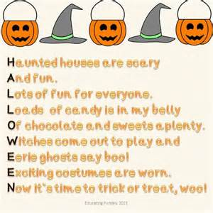 Halloween Acrostic Poem Ideas by Pin By Rebecca Turner On Halloween Language Arts Ideas