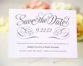 saving for a wedding save the date cards templates for weddings