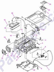 Parts Diagram4 Picture For Hp Laserjet 4000 Series