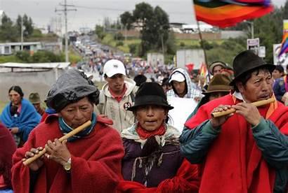 Indigenous Ecuador Indians Mining Indian Anti Quito