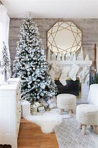 Winter Wonderland Farmhouse/Cottage Christmas Home Tour