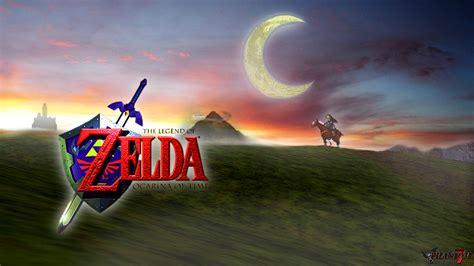 Legend Of Zelda Desktop Wallpaper Ocarina Of Time Is Truly Depressing Zelda Universe
