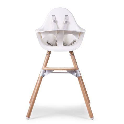 chaise haute evolu evolu 2 chair white 2 in 1 bumper evolu 2
