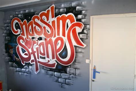 prénom graffiti chambre d 39 enfant déco