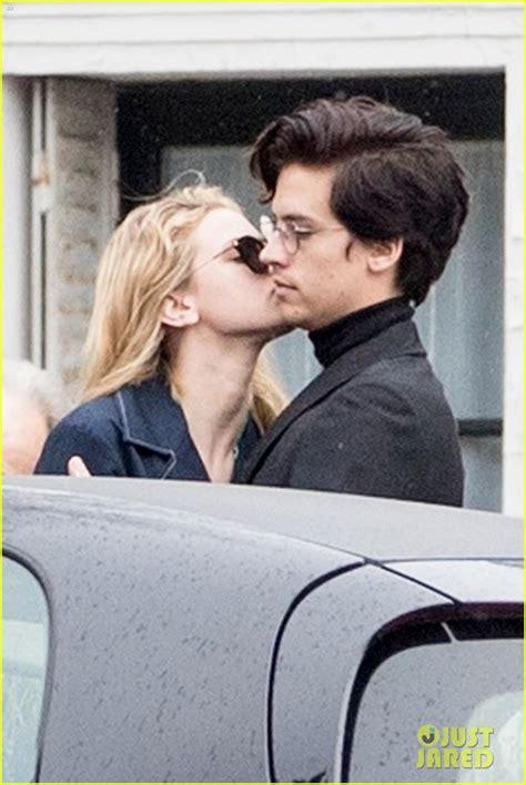 lili reinhart and cole sprouse paris riverdale s cole sprouse lili reinhart spotted kissing
