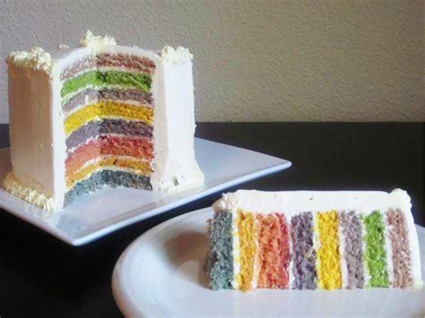 herve cuisine rainbow cake rainbow cake trivandrum cake house cake shop in trivandrum gt gt 20 rainbow cake