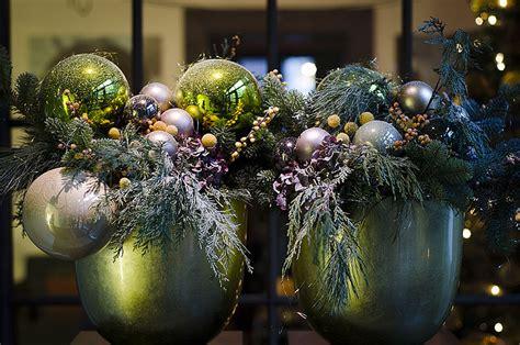 christmas inspirations luxury hotel lobby decoration