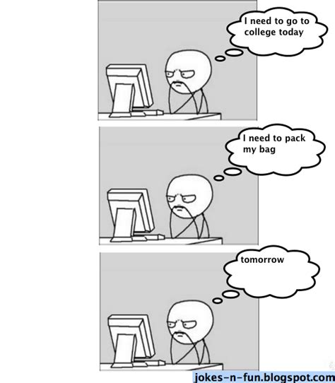 Man On Computer Meme - lazy computer guy jokes