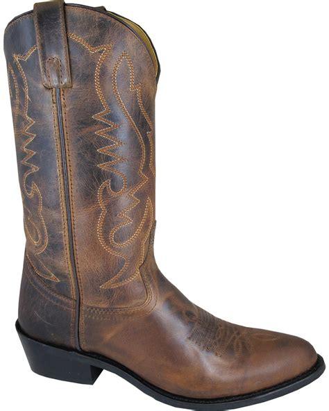 boot barn denver smoky mountain s brown denver cowboy boots toe