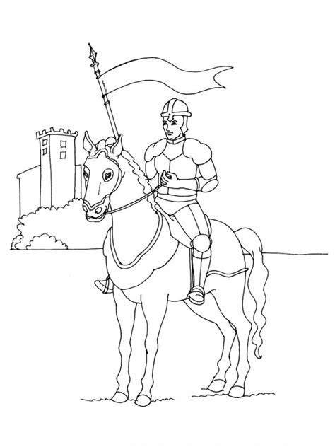 coloriage chevalier arm 233 dessin gratuit 224 imprimer
