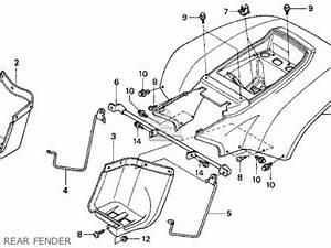 honda trx90 fourtrax 90 1997 v usa parts list With honda trx 90 manual
