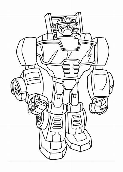 Coloring Rescue Bots Pages