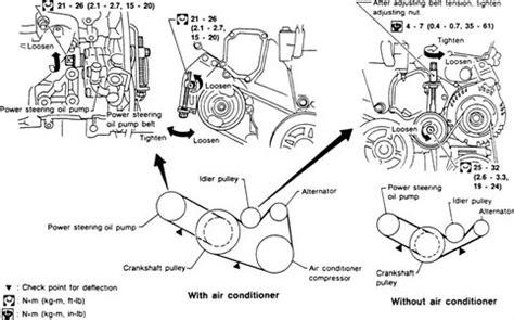 solved   show belt diagram  nissan quest fixya   nissan altima engine