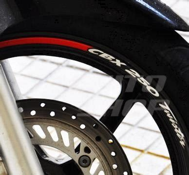 friso adesivo in roda refletivo moto honda cbx 250 twister r 120 48 em mercado livre