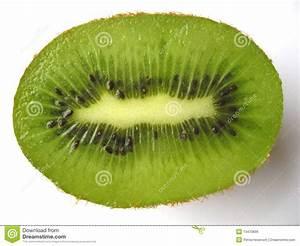 Kiwi Half Royalty Free Stock Image - Image: 13470666
