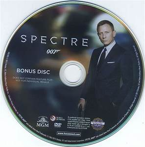 james bond spectre blu ray cover label 2015 r1 With dvd case labels