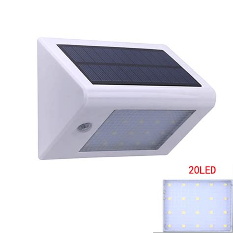 20 leds solar light outdoor with motion sensor ip65