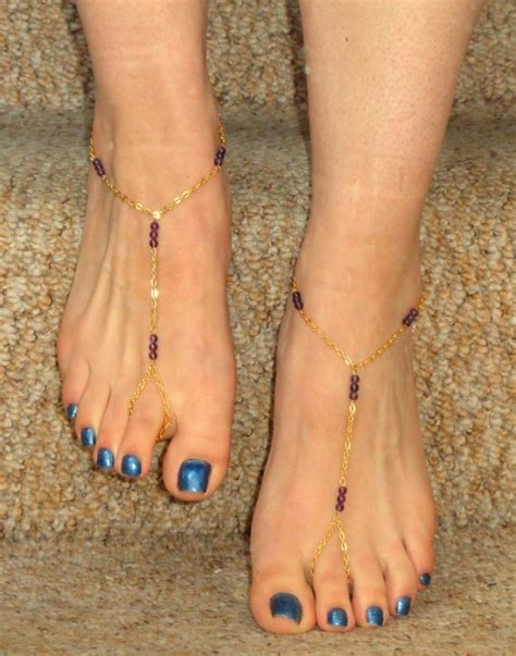 beautiful golden anklet designs styles  life