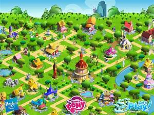 Ponyville The My Little Pony Gameloft Wiki Wikia