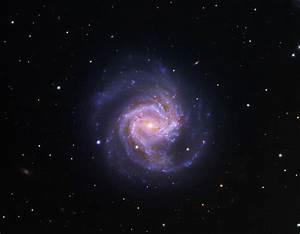 Messier 61, a barred spiral galaxy in Virgo | Anne's ...
